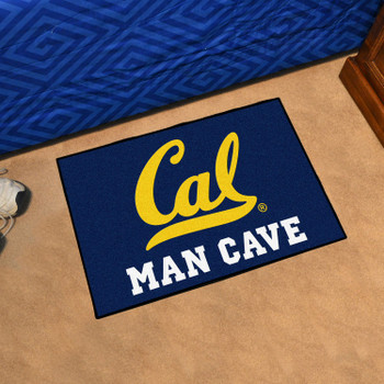 "19"" x 30"" University of California - Berkeley Man Cave Starter Blue Rectangle Mat"