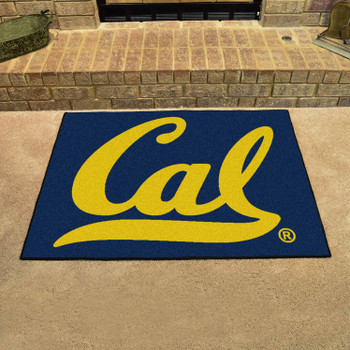 "33.75"" x 42.5"" University of California - Berkeley All Star Blue Rectangle Mat"