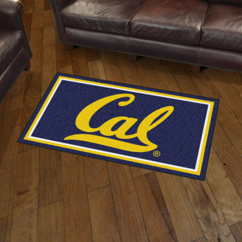 3' x 5' University of California - Berkeley Blue Rectangle Rug