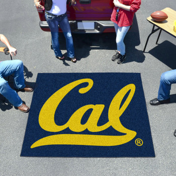 "59.5"" x 71"" University of California - Berkeley Blue Tailgater Mat"
