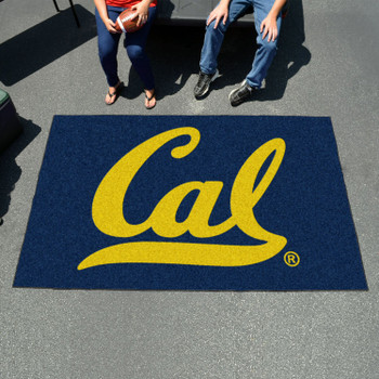 "59.5"" x 94.5"" University of California - Berkeley Blue Rectangle Ulti Mat"