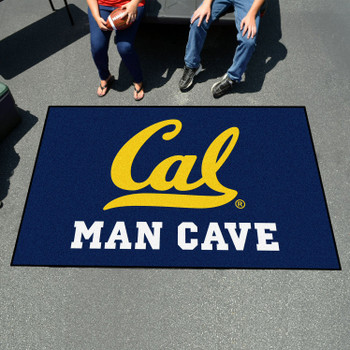 "59.5"" x 94.5"" University of California - Berkeley Man Cave Blue Rectangle Ulti Mat"