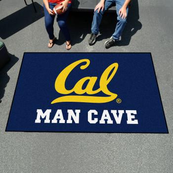 "59.5"" x 94.5"" University of California - Berkeley Man Cave Blue Rectangle Ulti Mat"