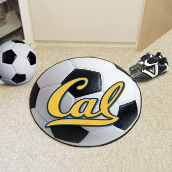 "27"" University of California - Berkeley Soccer Ball Round Mat"