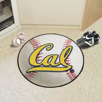 "27"" University of California - Berkeley Baseball Style Round Mat"