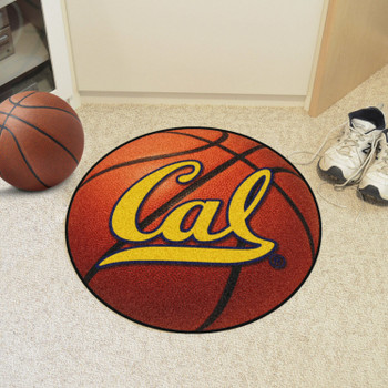 "27"" University of California - Berkeley Basketball Style Round Mat"