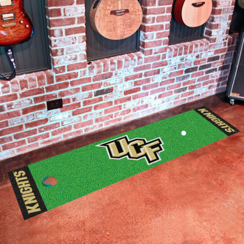 "18"" x 72"" University of Central Florida Putting Green Runner Mat"