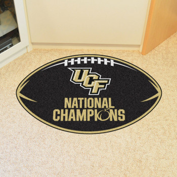"20.5"" x 32.5"" University of Central Florida Football Shape Mat"