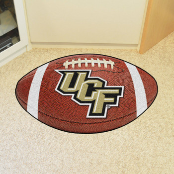 "20.5"" x 32.5"" University of Central Florida UCF Logo Football Shape Mat"