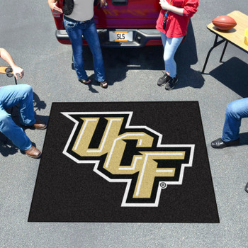 "59.5"" x 71"" University of Central Florida Black Tailgater Mat"