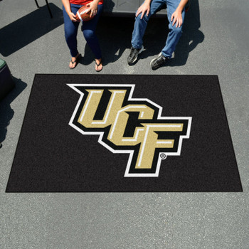 "59.5"" x 94.5"" University of Central Florida Black Rectangle Ulti Mat"