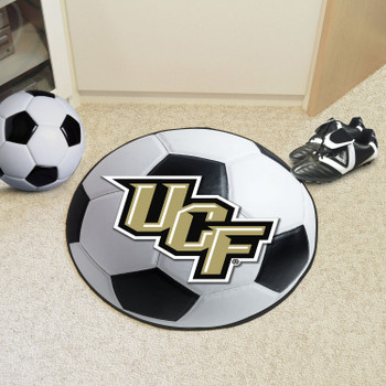 "27"" University of Central Florida Soccer Ball Round Mat"