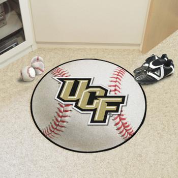 "27"" University of Central Florida Baseball Style Round Mat"