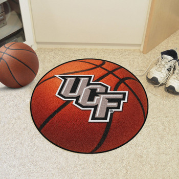 "27"" University of Central Florida Basketball Style Round Mat"