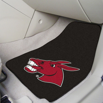University of Central Missouri Black Carpet Car Mat, Set of 2
