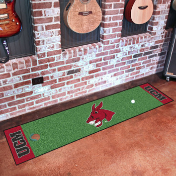 "18"" x 72"" University of Central Missouri Putting Green Runner Mat"