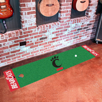 "18"" x 72"" University of Cincinnati Putting Green Runner Mat"