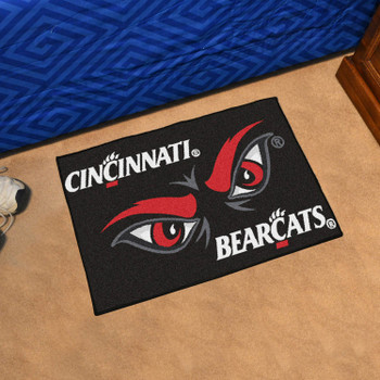 "19"" x 30"" University of Cincinnati Uniform Rectangle Starter Mat"