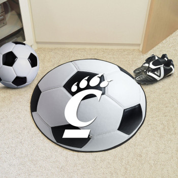 "27"" University of Cincinnati Soccer Ball Round Mat"