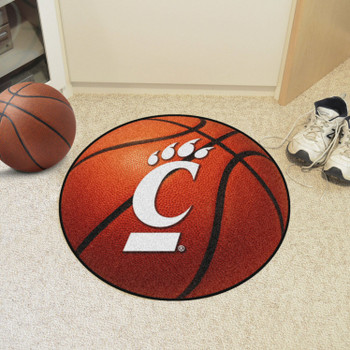 "27"" University of Cincinnati Basketball Style Round Mat"