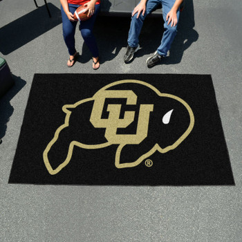 "59.5"" x 94.5"" University of Colorado Black Rectangle Ulti Mat"