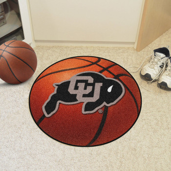 "27"" University of Colorado Basketball Style Round Mat"