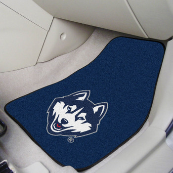 University of Connecticut Carpet Car Mat, Set of 2