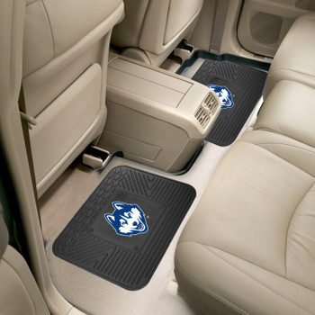 University of Connecticut Heavy Duty Vinyl Car Utility Mats, Set of 2
