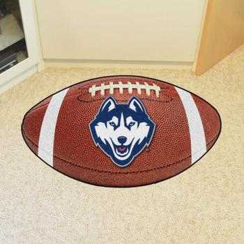 "20.5"" x 32.5"" University of Connecticut Football Shape Mat"