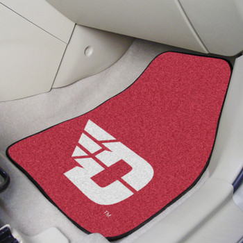 University of Dayton Red Carpet Car Mat, Set of 2