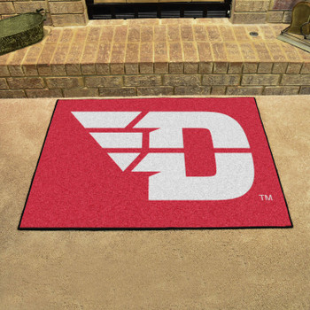 "33.75"" x 42.5"" University of Dayton All Star Red Rectangle Mat"