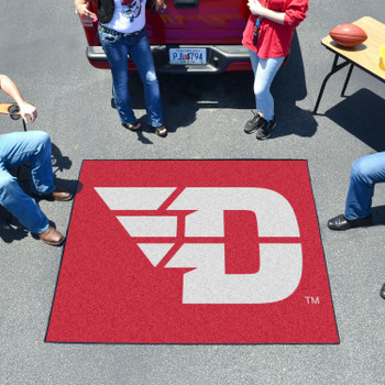 "59.5"" x 71"" University of Dayton Red Tailgater Mat"