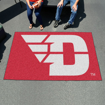 "59.5"" x 94.5"" University of Dayton Red Rectangle Ulti Mat"