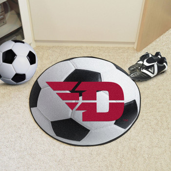 "27"" University of Dayton Soccer Ball Round Mat"