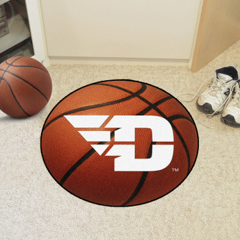 "27"" University of Dayton Basketball Style Round Mat"