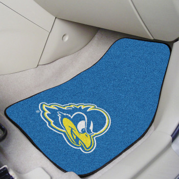 University of Delaware Blue Carpet Car Mat, Set of 2
