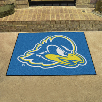 "33.75"" x 42.5"" University of Delaware All Star Blue Rectangle Mat"