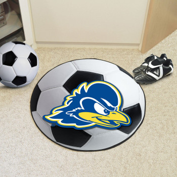 "27"" University of Delaware Soccer Ball Round Mat"