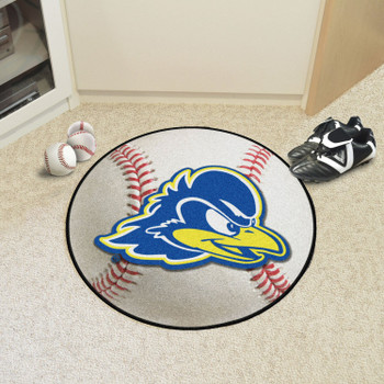 "27"" University of Delaware Baseball Style Round Mat"