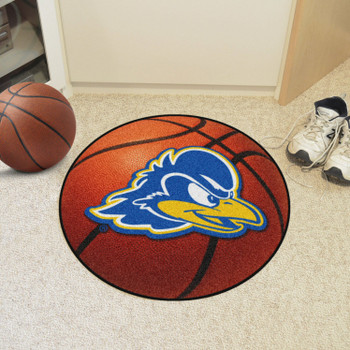 "27"" University of Delaware Basketball Style Round Mat"