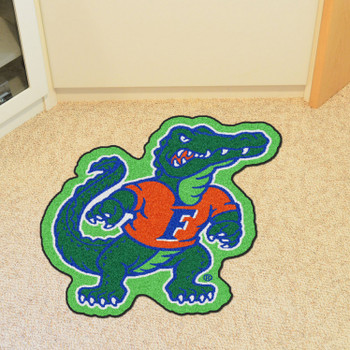"University of Florida Mascot Mat - ""Albert Gator"" Logo"