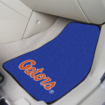 University of Florida Carpet Car Mat, Set of 2