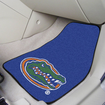 University of Florida Blue Carpet Car Mat, Set of 2