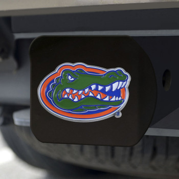 University of Florida Hitch Cover - Color on Black