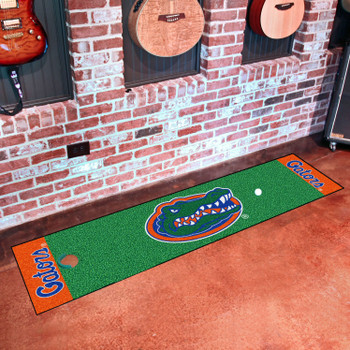 "18"" x 72"" University of Florida Putting Green Runner Mat"