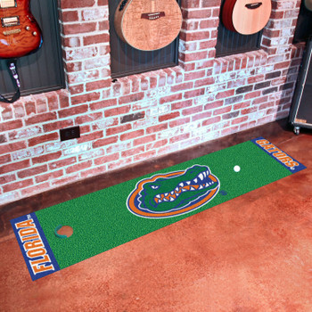 "18"" x 72"" University of Florida Gators  Putting Green Runner Mat"
