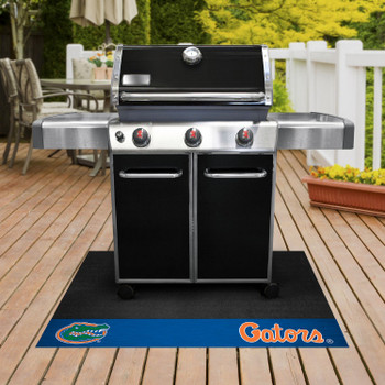 "26"" x 42"" University of Florida Gators Blue Grill Mat"