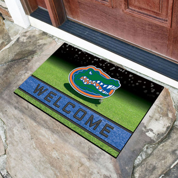 "18"" x 30"" University of Florida Crumb Rubber Door Mat"
