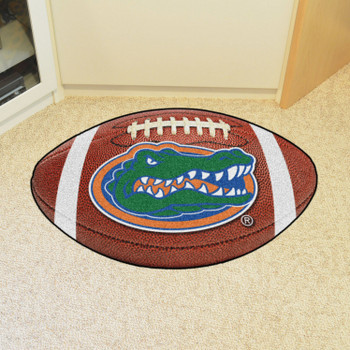 "20.5"" x 32.5"" University of Florida Gators Football Shape Mat"
