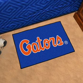 "19"" x 30"" University of Florida Blue Rectangle Starter Mat"